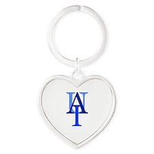 Cute Letters Heart Keychain