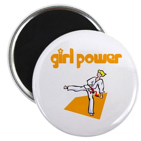 Girl Power Martial Arts Magnet