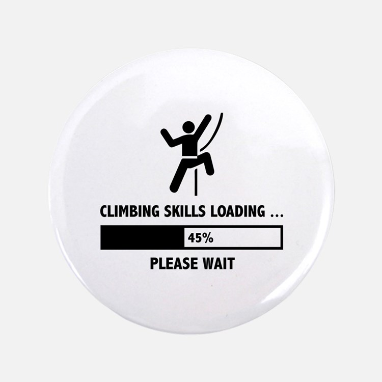 "Climbing Skills Loading 3.5"" Button"