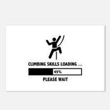 Climbing Skills Loading Postcards (Package of 8)