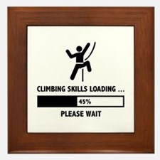 Climbing Skills Loading Framed Tile