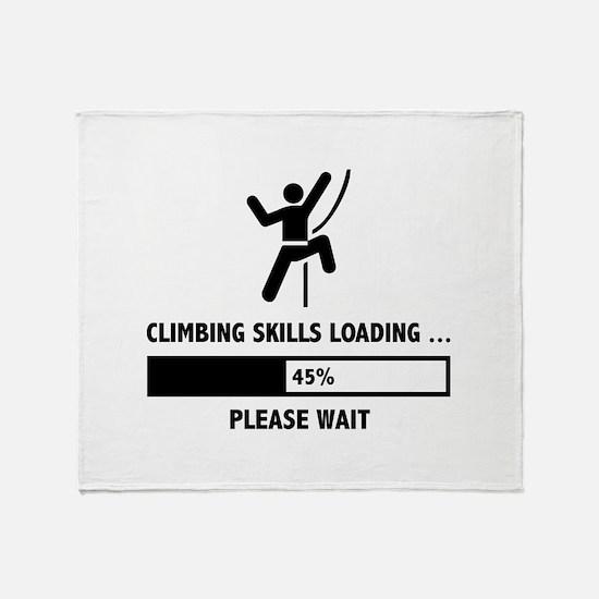 Climbing Skills Loading Stadium Blanket