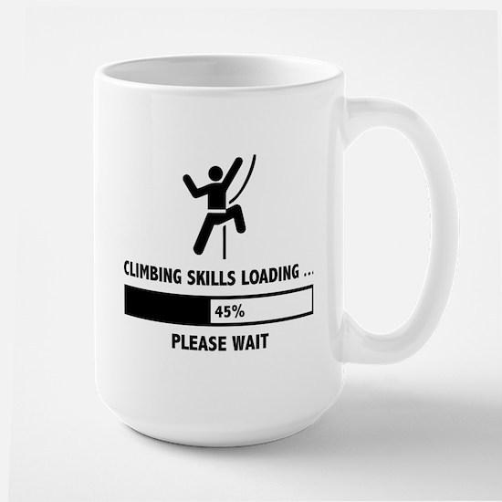 Climbing Skills Loading Large Mug
