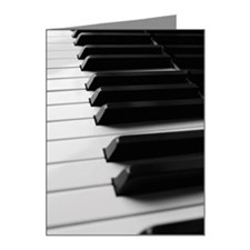 Piano keyboard Note Cards (Pk of 20)