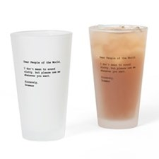 Use Grammar Drinking Glass