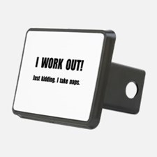 Work Out Naps Hitch Cover