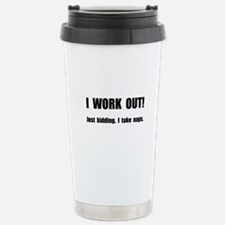 Work Out Naps Travel Mug
