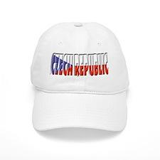 Word Art Flag Czech Republic Baseball Cap