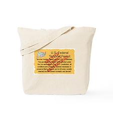 """""""Terrorist Permit"""" Tote Bag"""