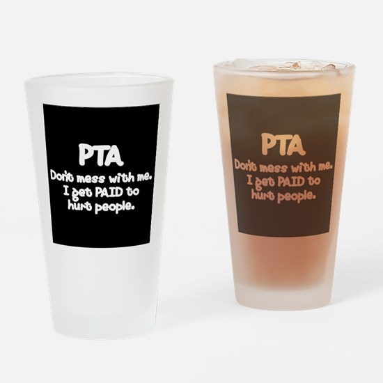 Unique Physical therapist assistant Drinking Glass