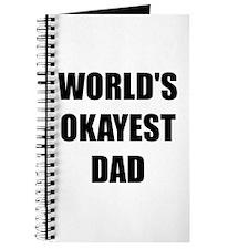 Worlds Okayest Dad Journal