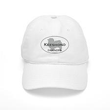 Keeshond GRANDPA Baseball Cap