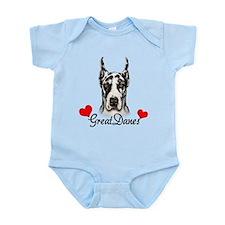 Great Dane - Harlequin Infant Bodysuit