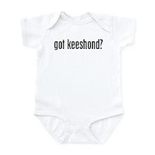 Got Keeshond? Infant Bodysuit