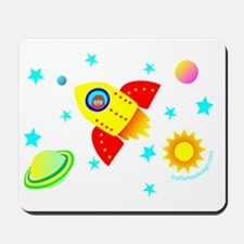 Little Adventurer in Space! Mousepad