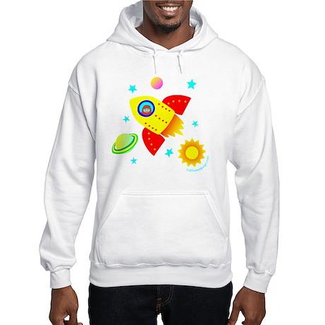 Little Adventurer in Space! Hooded Sweatshirt