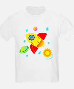 Little Adventurer in Space! Kids T-Shirt