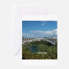 Rainbow Bridge 1 Greeting Cards