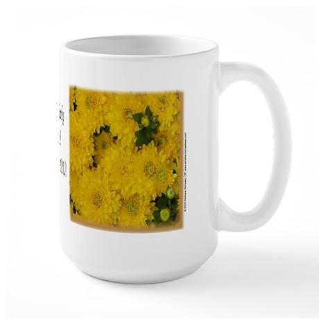 I Give thanks to God for you Large Mug