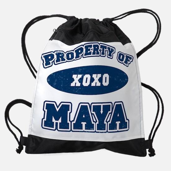 PropertyOf_MAYA.png Drawstring Bag