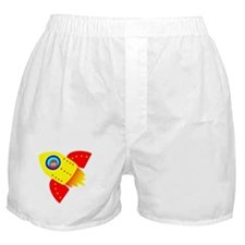 Solo Adventurer in Space! Boxer Shorts