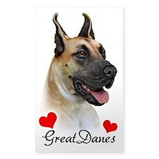 Great Dane - Fawn Decal