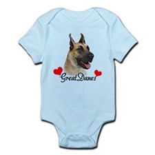 Great Dane - Fawn Infant Bodysuit