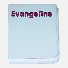 Evangeline Red Caps baby blanket
