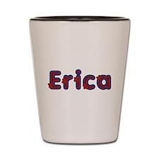 Erica Red Caps Shot Glass