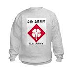 4TH ARMY Kids Sweatshirt