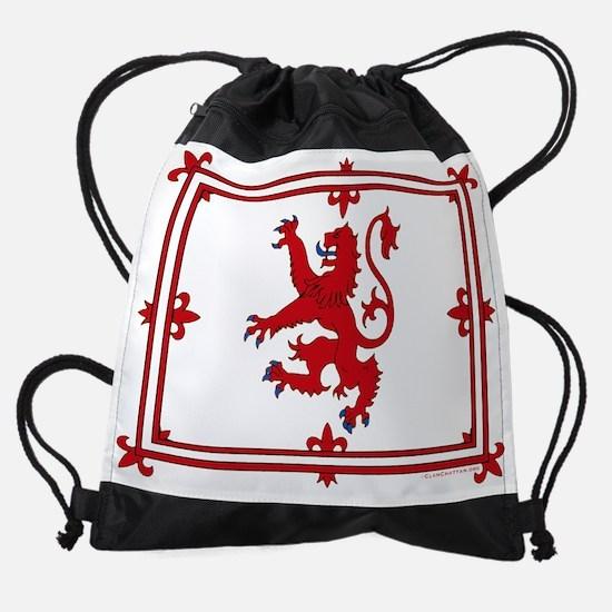 2-ScotLion10x8trans.png Drawstring Bag