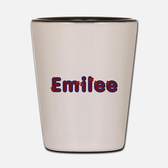 Emilee Red Caps Shot Glass