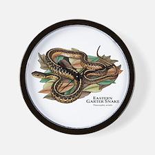 Eastern Garter Snake Wall Clock