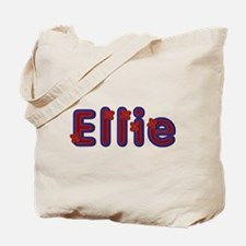 Ellie Red Caps Tote Bag