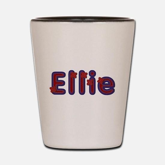 Ellie Red Caps Shot Glass