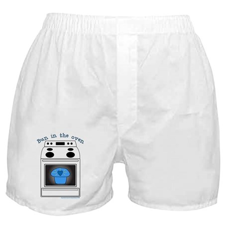 """Bun in the oven"" Boxer Shorts"
