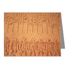 Hieroglyphs on the wall insi Note Cards (Pk of 10)