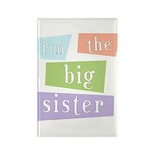 I'm the Big Sister Rectangle Magnet