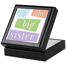 I'm the Big Sister Keepsake Box