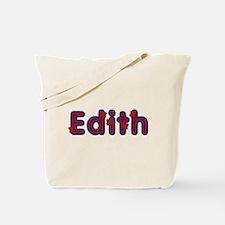 Edith Red Caps Tote Bag