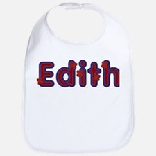 Edith Red Caps Bib
