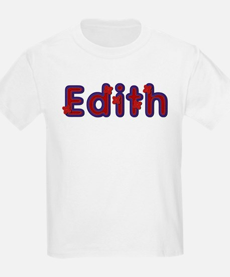 Edith Red Caps T-Shirt