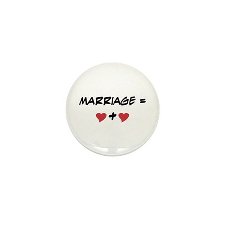Marriage Equals Mini Button (10 pack)