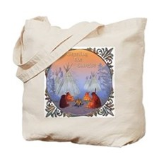 Greeting the Sunrise Tote Bag