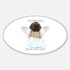 Puppy 20 Oval Decal