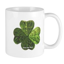 Concentric 4 Leaf Clover Mug
