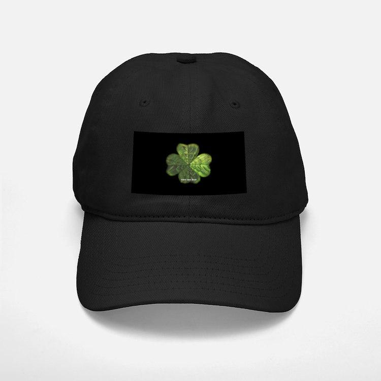 Concentric 4 Leaf Clover Baseball Hat