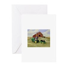 Cute Tractors Greeting Cards (Pk of 10)
