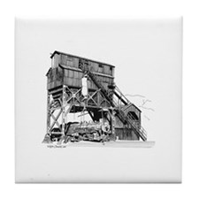 Coaling Tower Tile Coaster