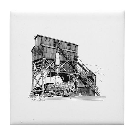 Coaling Tower Tile Coaster